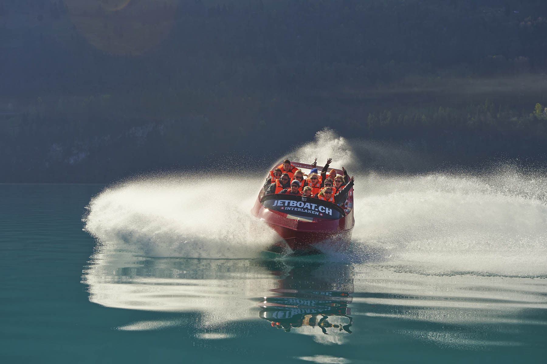 Jetboat Interlaken